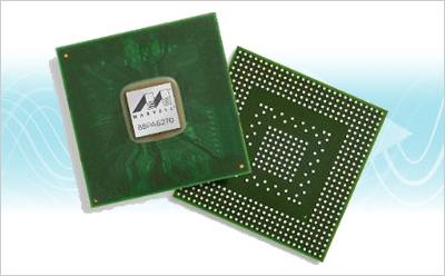 Marvell公司推出八通道多千兆以太网收发器-Alaska 88E2180